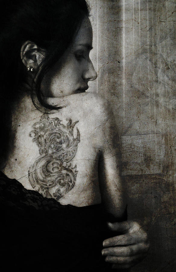 Woman Photograph - The Other Side by Laura Melis