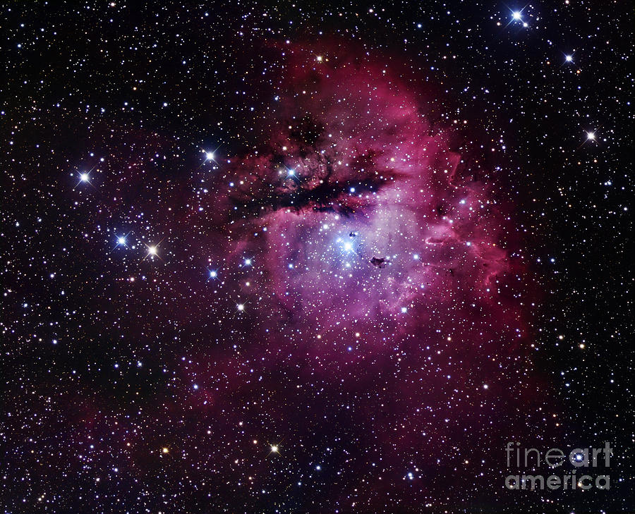 The Pacman Nebula Photograph