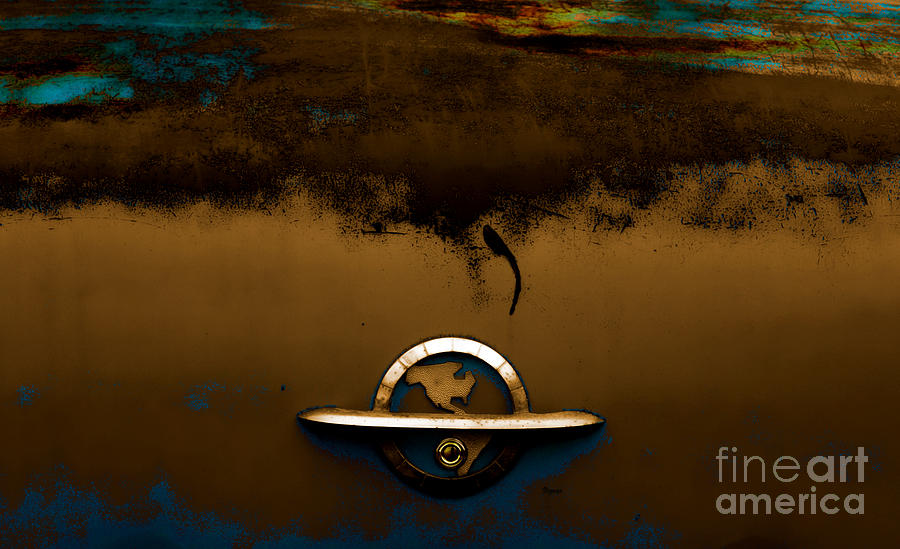 The Paint Of Corrosion  Photograph  - The Paint Of Corrosion  Fine Art Print