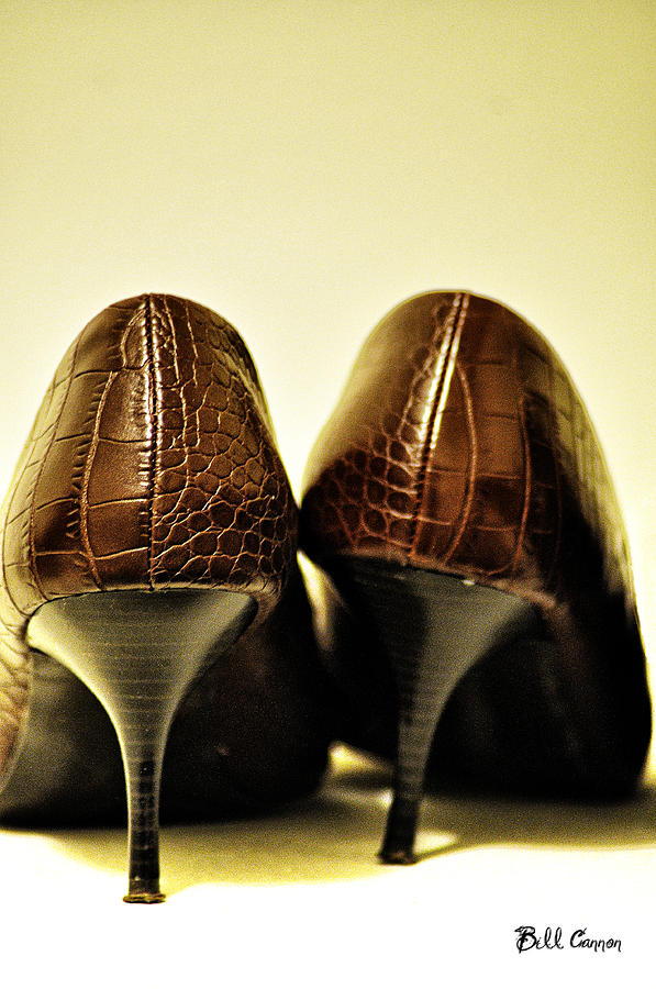 Shoes Photograph - The Pair by Bill Cannon