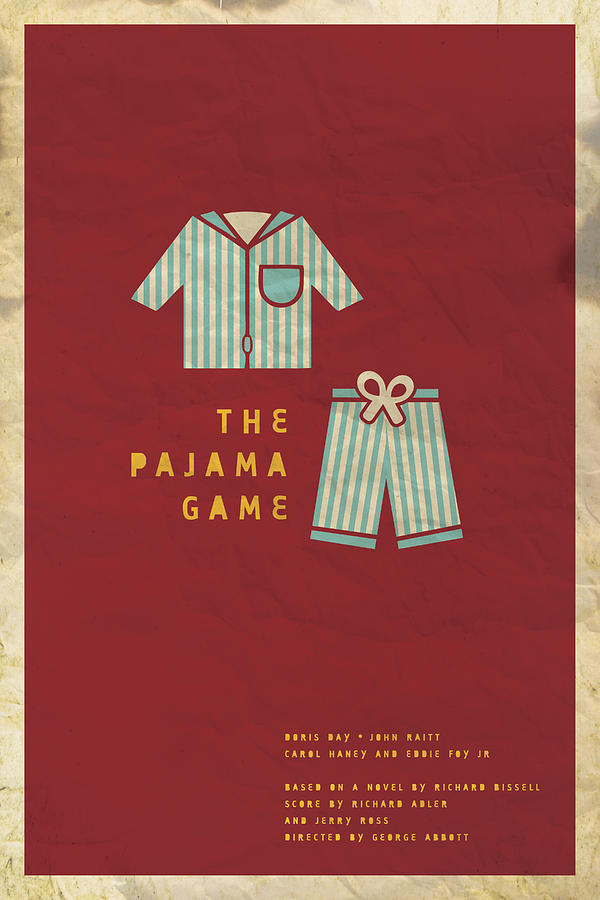 The Pajama Game Digital Art  - The Pajama Game Fine Art Print
