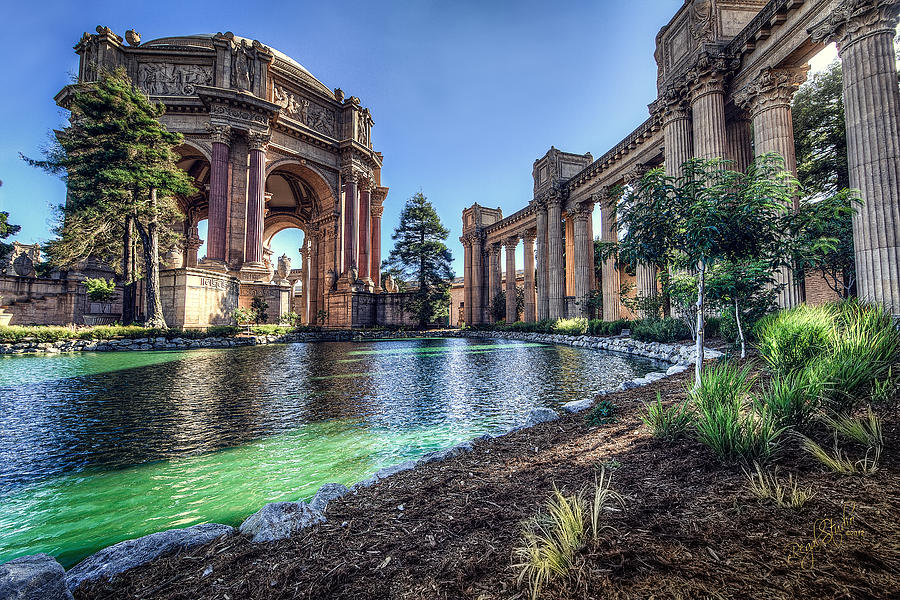 The Palace Of Fine Arts Photograph  - The Palace Of Fine Arts Fine Art Print