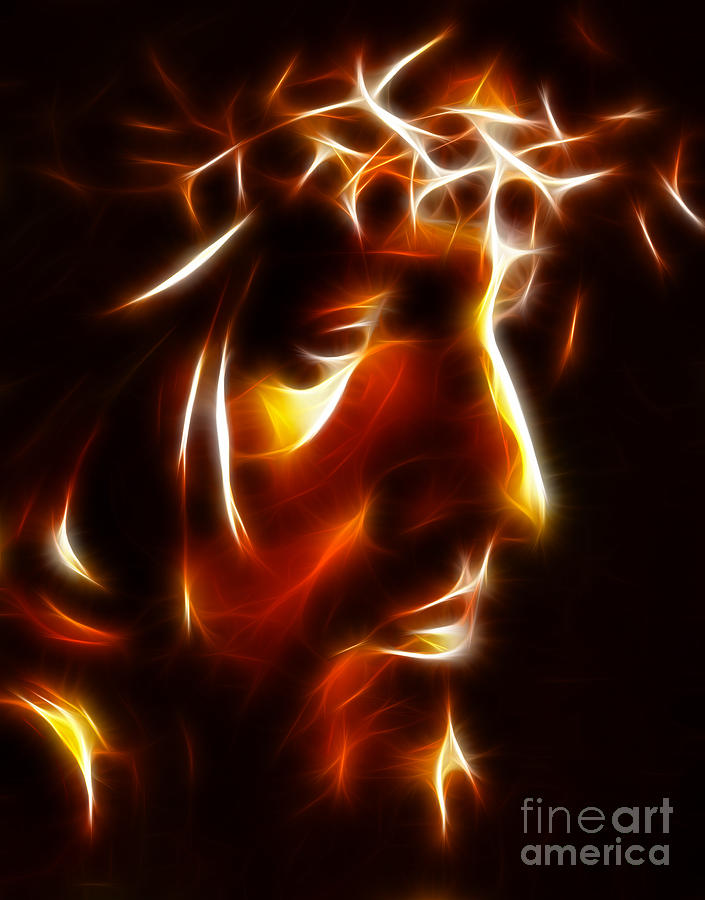 The Passion Of Christ Photograph  - The Passion Of Christ Fine Art Print