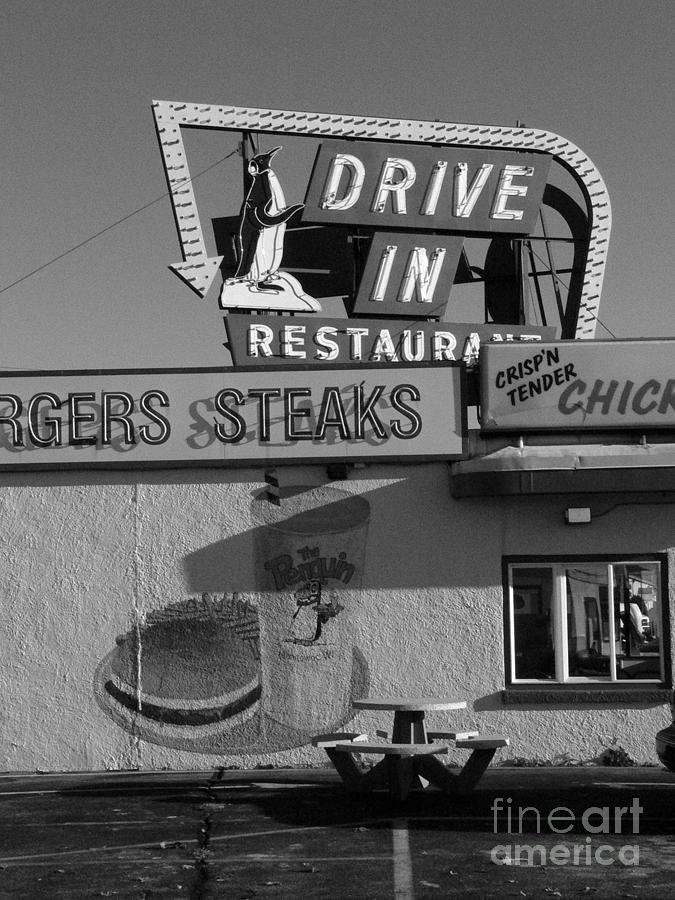 The Penguin Drive-in Photograph