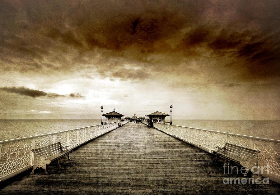 the pier at Llandudno Photograph