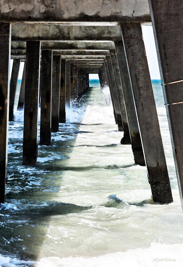 The Pier Photograph  - The Pier Fine Art Print