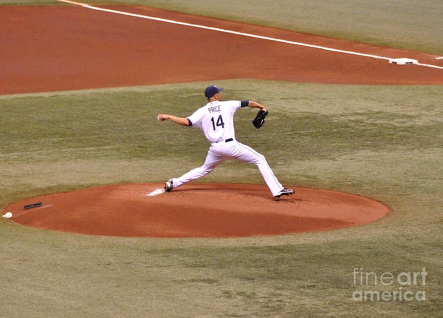 The Pitch - David Price Photograph