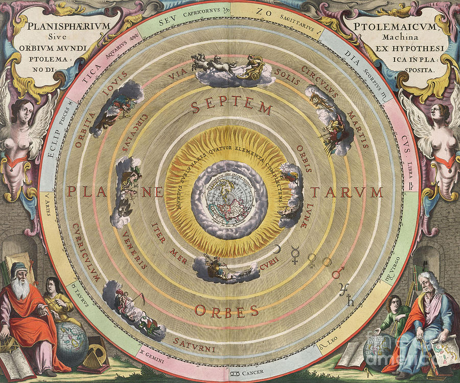 The Planisphere Of Ptolemy, Harmonia Photograph
