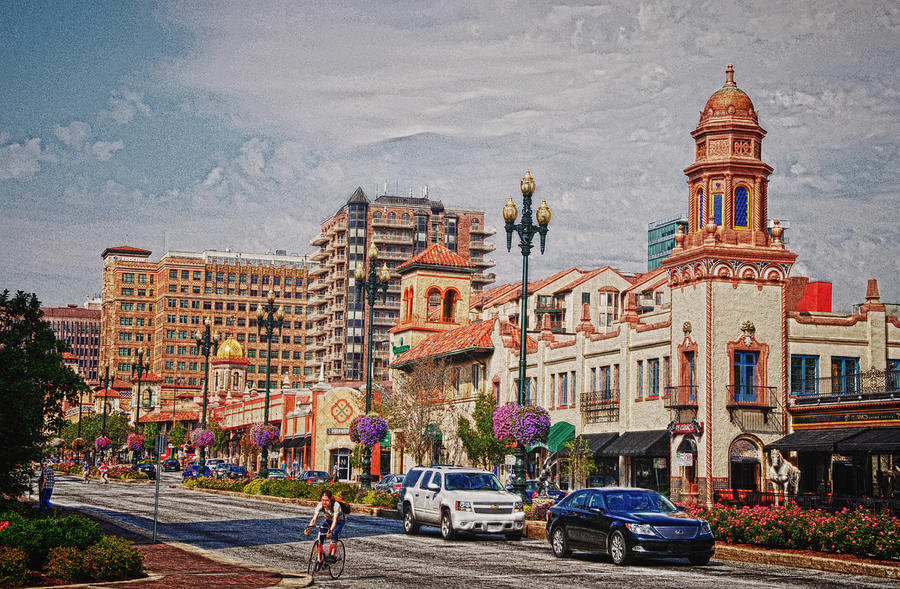The Plaza In Kansas City Photograph  - The Plaza In Kansas City Fine Art Print
