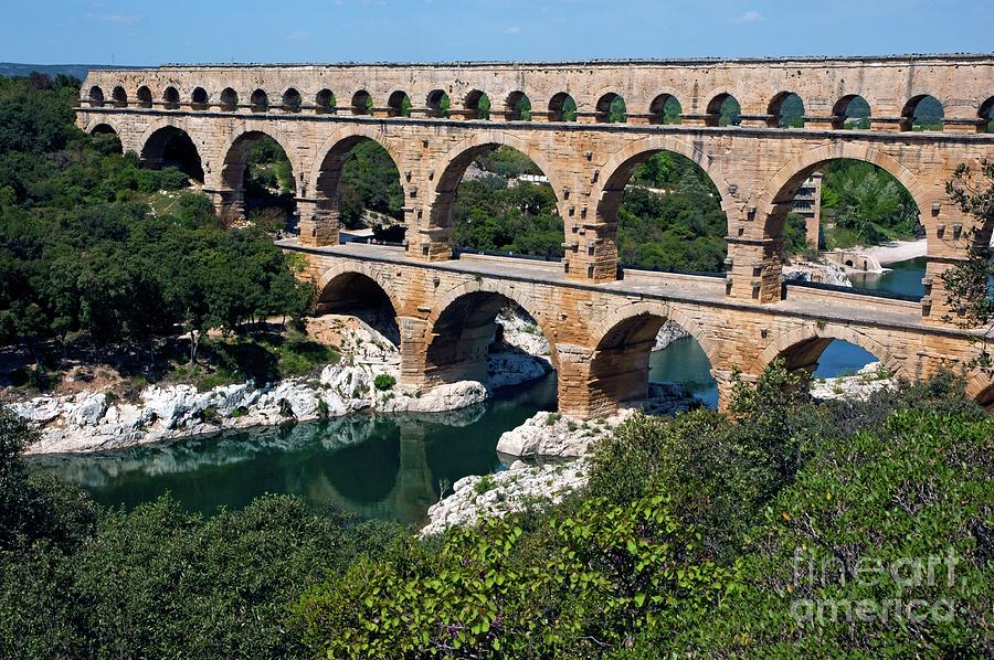 The Pont Du Gard Photograph