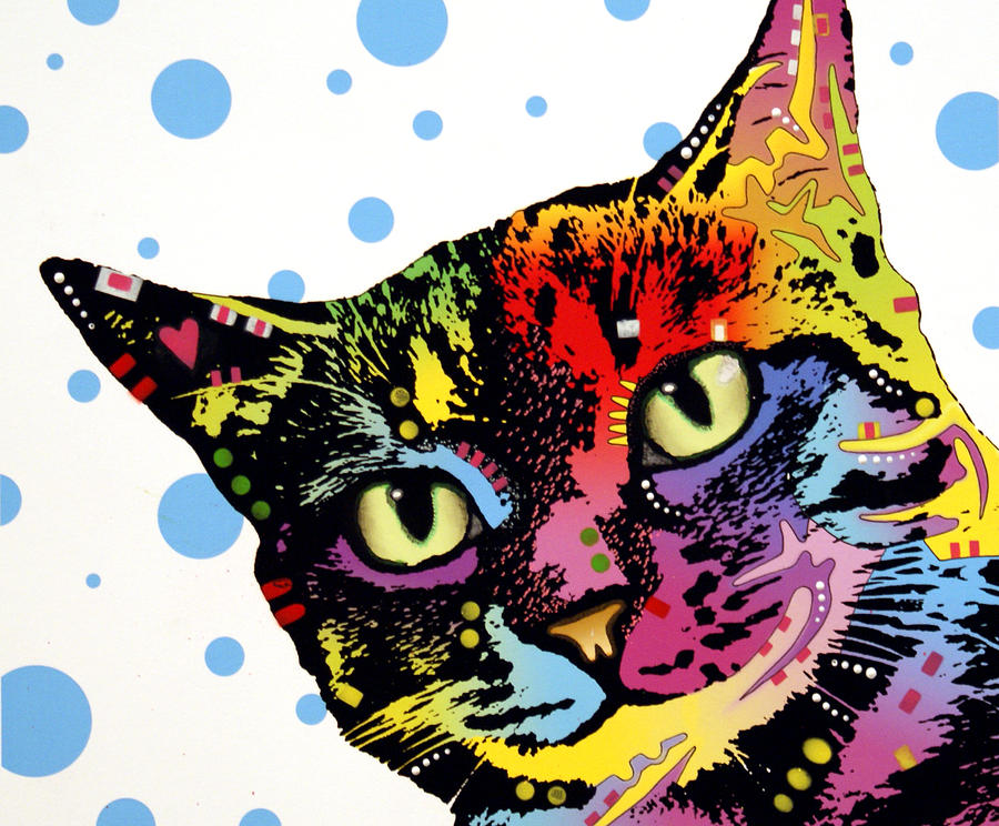 The Pop Cat Painting