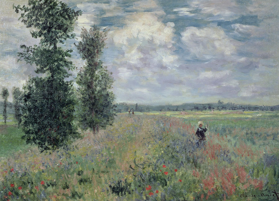The Poppy Field Painting