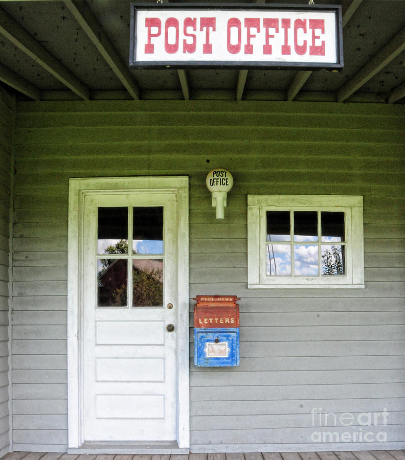 Paul Ward Photograph - The Post Office by Paul Ward