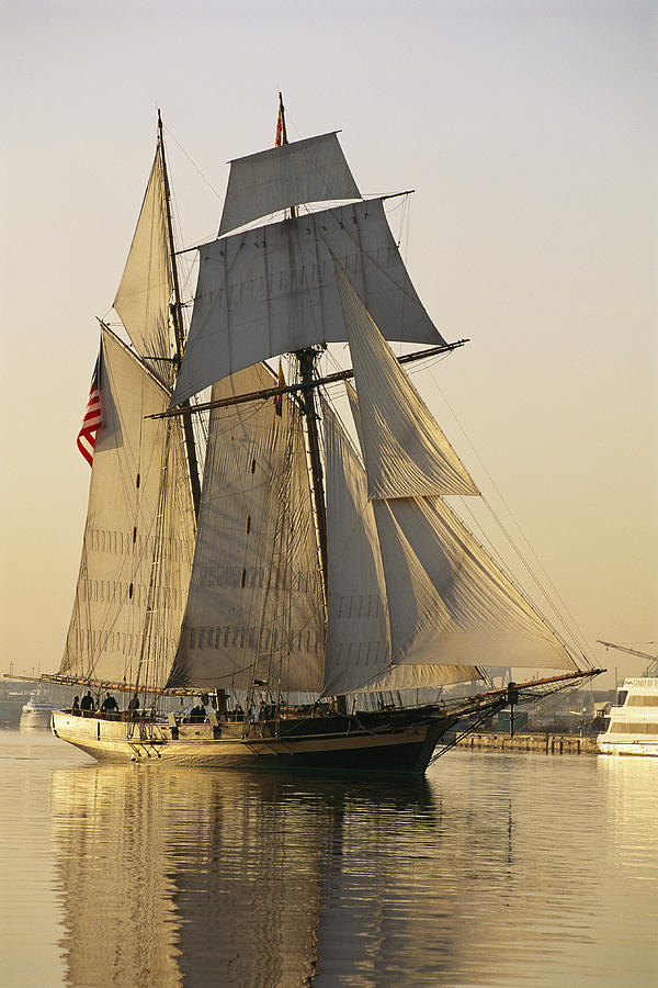 The Pride Of Baltimore Clipper Ship Photograph  - The Pride Of Baltimore Clipper Ship Fine Art Print