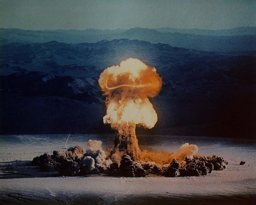 The Priscilla Shot Was A 37 Kiloton Photograph  - The Priscilla Shot Was A 37 Kiloton Fine Art Print