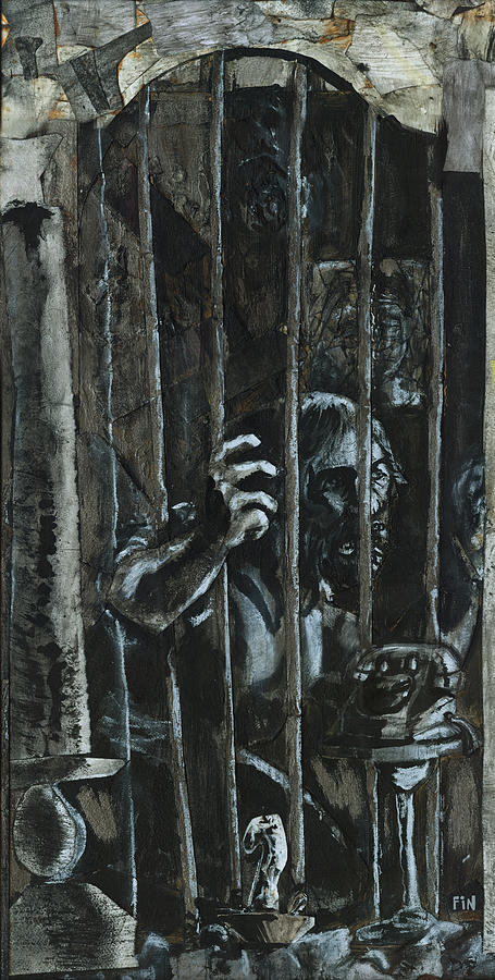 The Prisoner Drawing