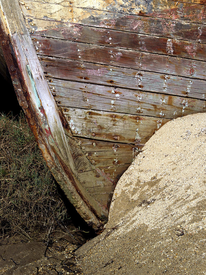 Boats Photograph - The Pt Reyes Abstract by Bill Gallagher