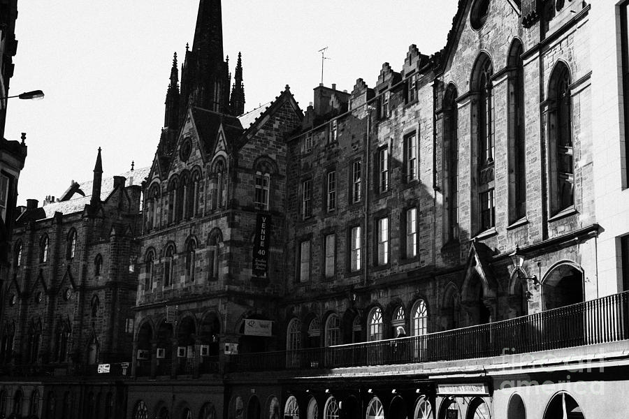 The Quaker Meeting House On Victoria Street Edinburgh Scotland Uk United Kingdom Photograph
