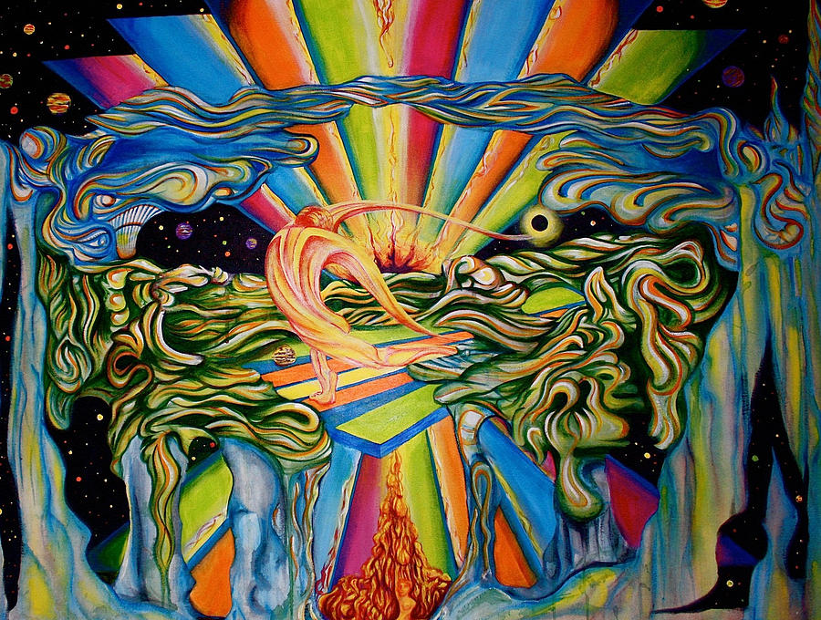 The Quantum Awakening Painting