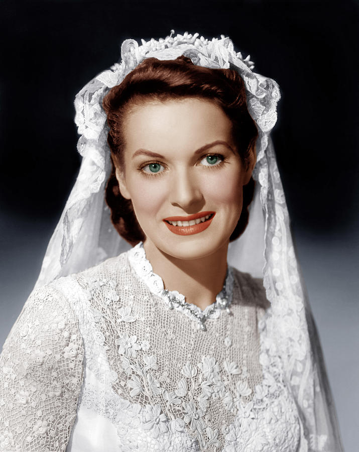 The Quiet Man, Maureen Ohara, 1952 Photograph