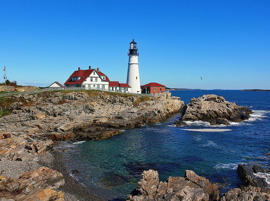 Maine Photograph - The Quintessential Maine by Lanis Rossi