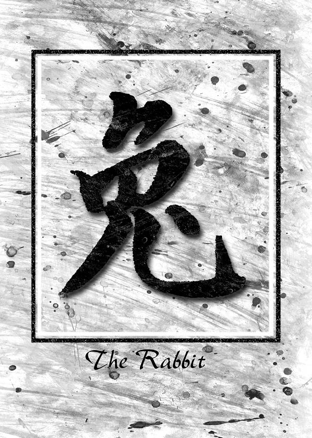 The Rabbit  Pyrography  - The Rabbit  Fine Art Print