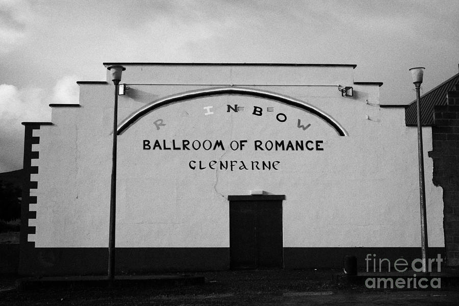 the rainbow ballroom of romance in Glenfarne county leitrim republic of ireland Photograph  - the rainbow ballroom of romance in Glenfarne county leitrim republic of ireland Fine Art Print