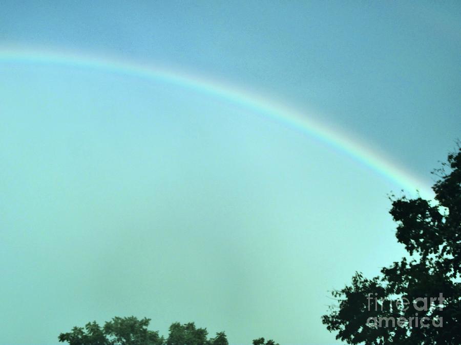 The Rainbow Is A Sign Photograph