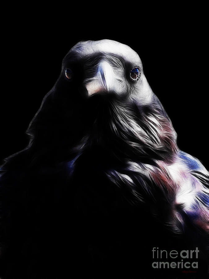 The Raven In My Dreams Photograph  - The Raven In My Dreams Fine Art Print