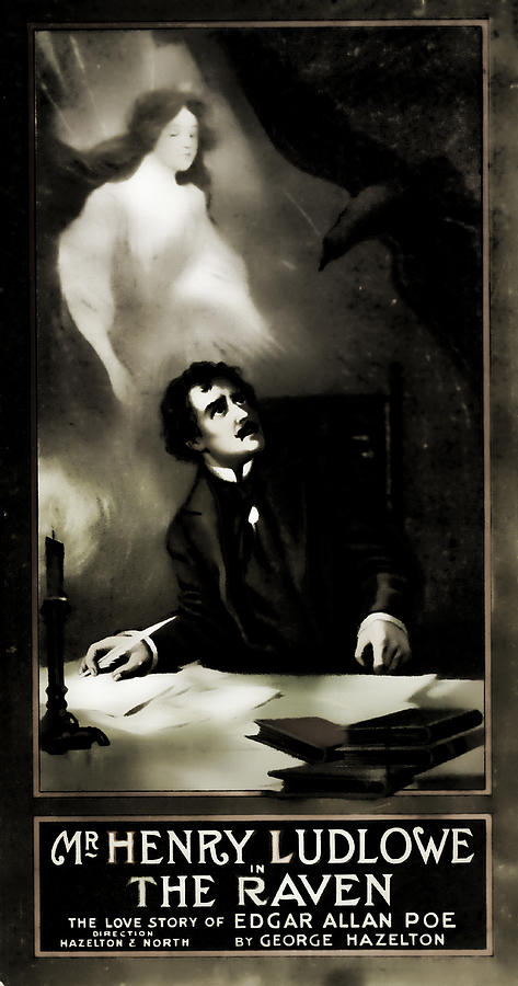 The Raven The Love Story Of Edgar Allen Poe Photograph
