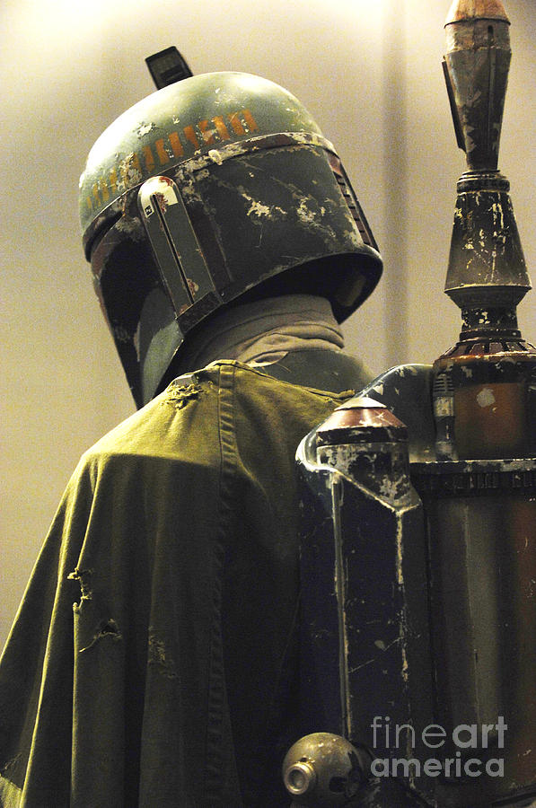 The Real Boba Fett Photograph  - The Real Boba Fett Fine Art Print