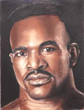 The Real Deal - Evander Holyfield Painting