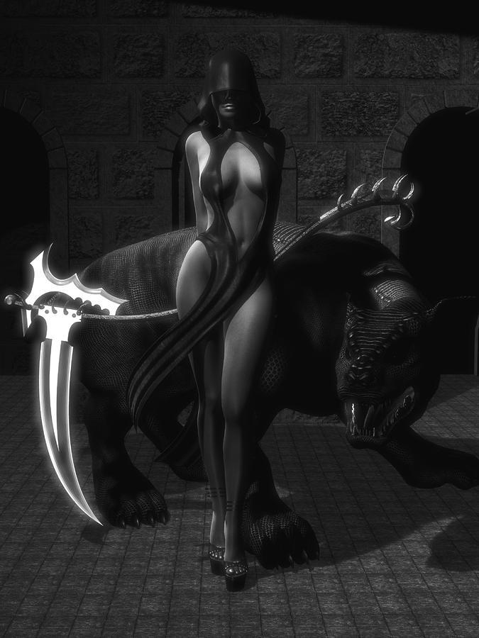 The Reaper Digital Art