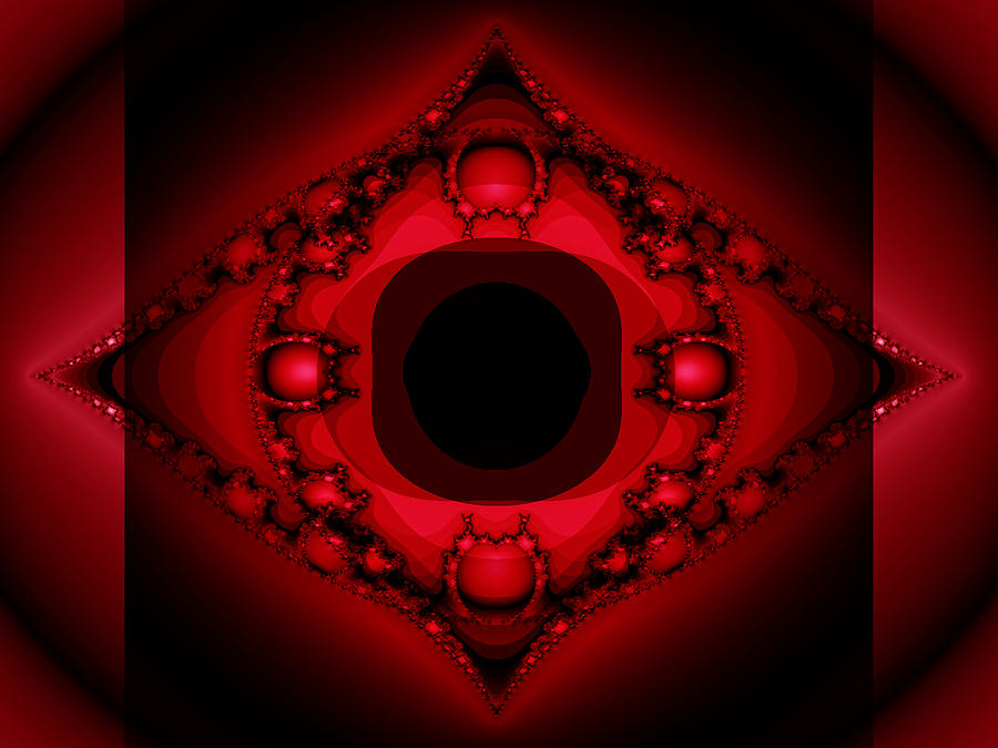 The Red Portal Photograph By Mother Nature