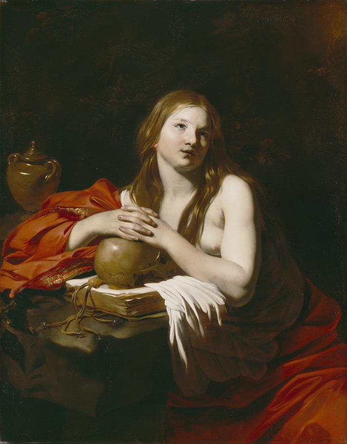 The Repentant Magdalene Painting