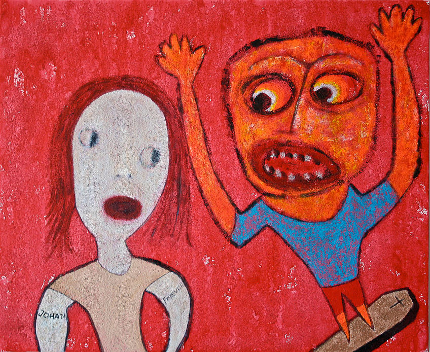 The Resurrected Dentist Painting