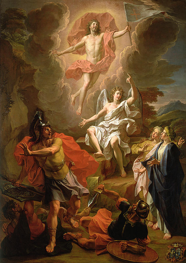 The Resurrection Of Christ Painting  - The Resurrection Of Christ Fine Art Print