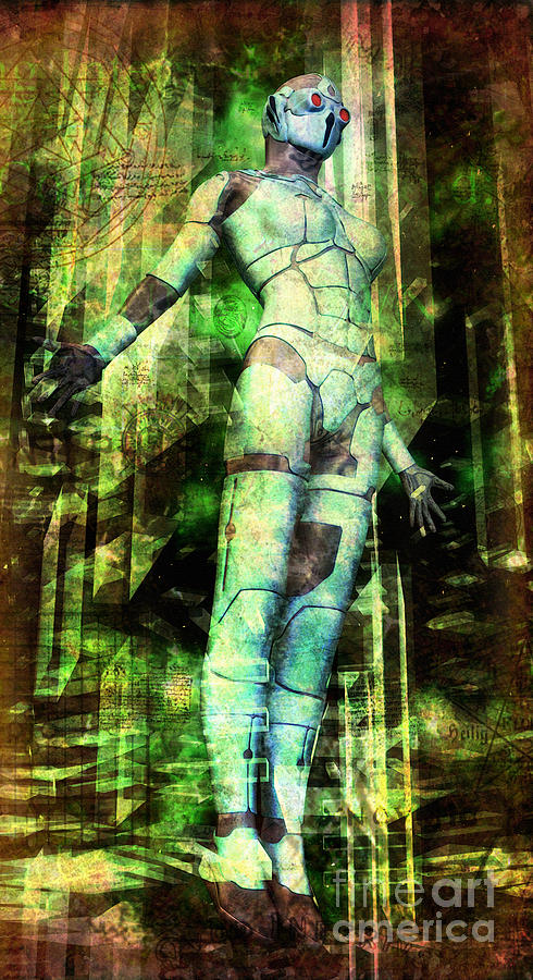 The Revelations Of Glaaki Digital Art  - The Revelations Of Glaaki Fine Art Print