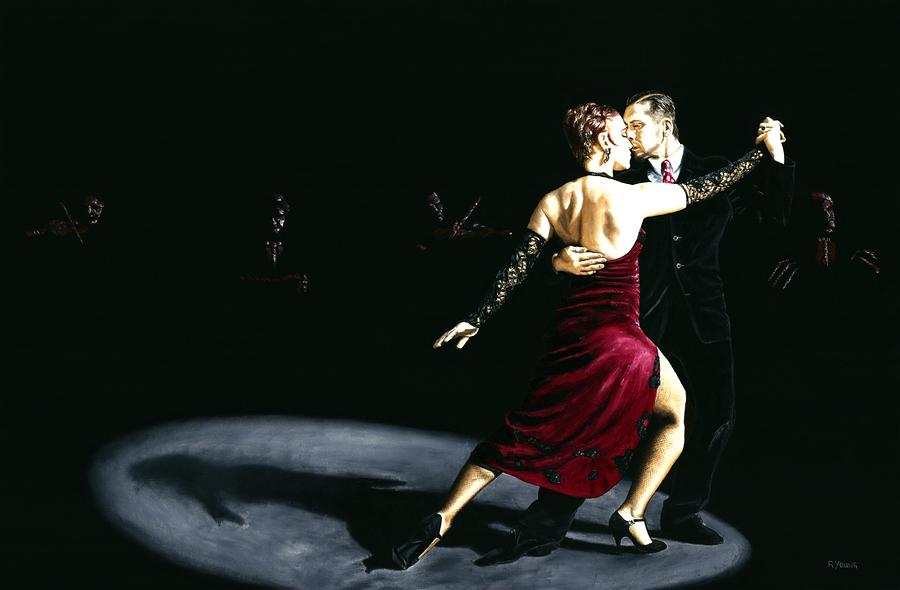 The Rhythm Of Tango Painting  - The Rhythm Of Tango Fine Art Print