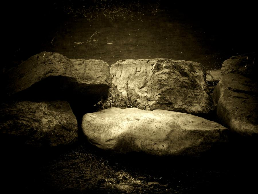 The River Rocks Photograph