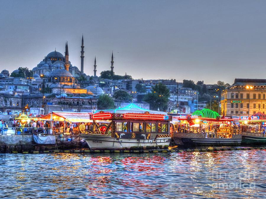 The Riverboats Of Istanbul Photograph  - The Riverboats Of Istanbul Fine Art Print