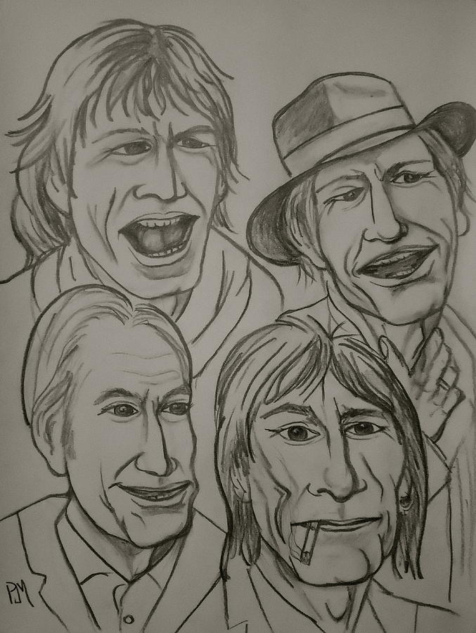 The Rolling Stones Drawing