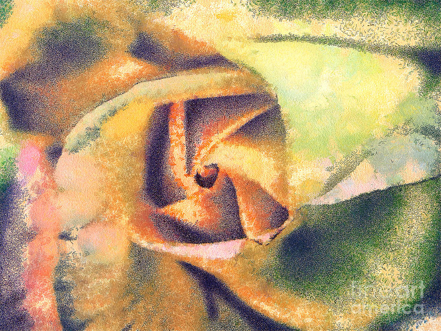 The Rose Painting  - The Rose Fine Art Print