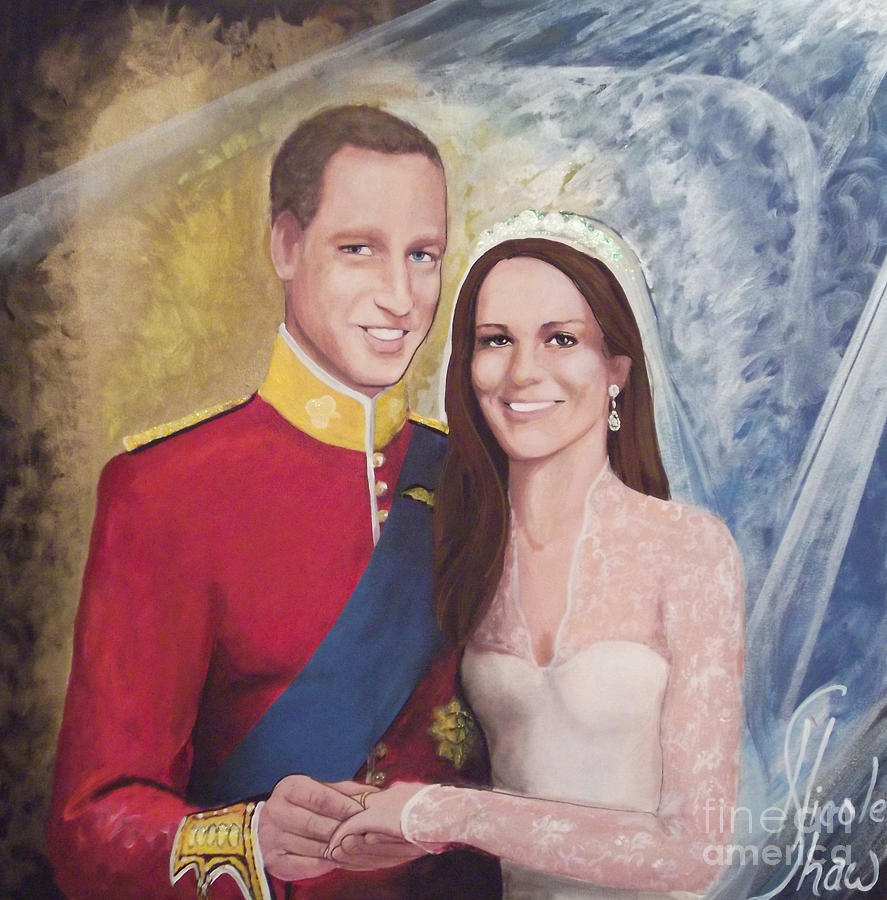 The Royal Wedding Painting  - The Royal Wedding Fine Art Print