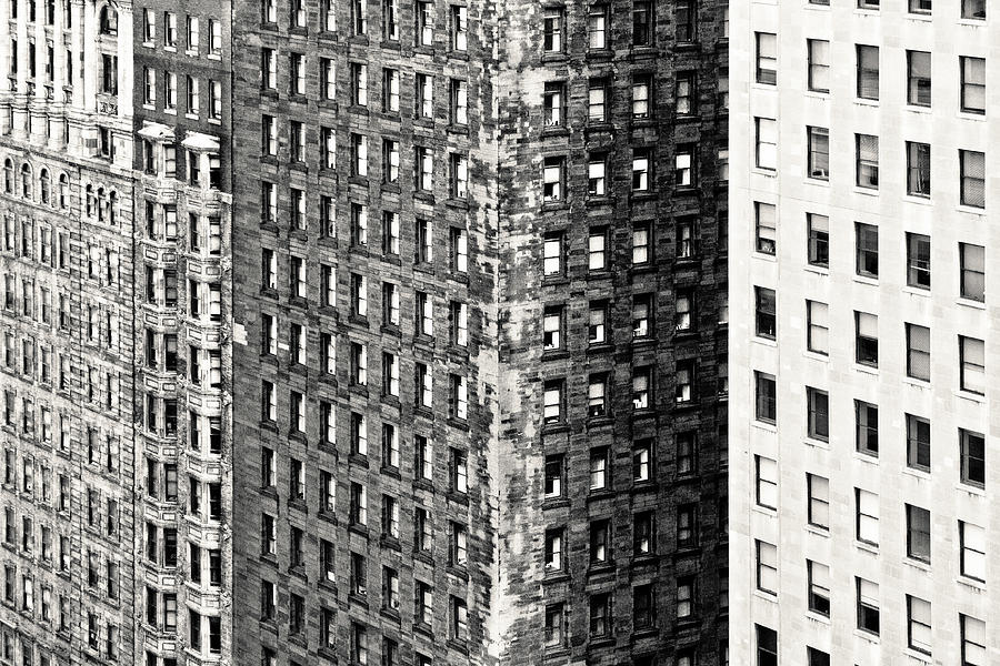 The Rugged Skyscrapers Of Philadelphia Photograph