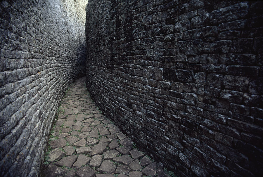 The Ruins Of Great Zimbabwe Were Built Photograph