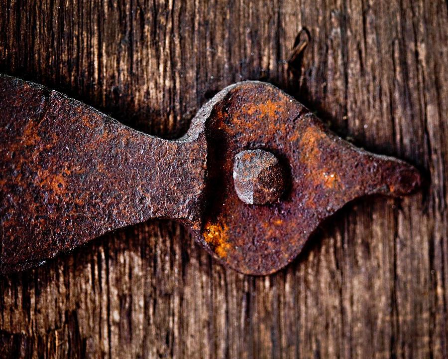 The Rusty Hinge Photograph