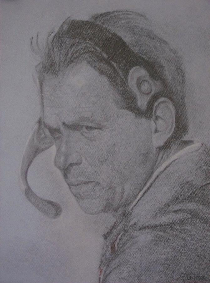 The Saban Look Drawing  - The Saban Look Fine Art Print