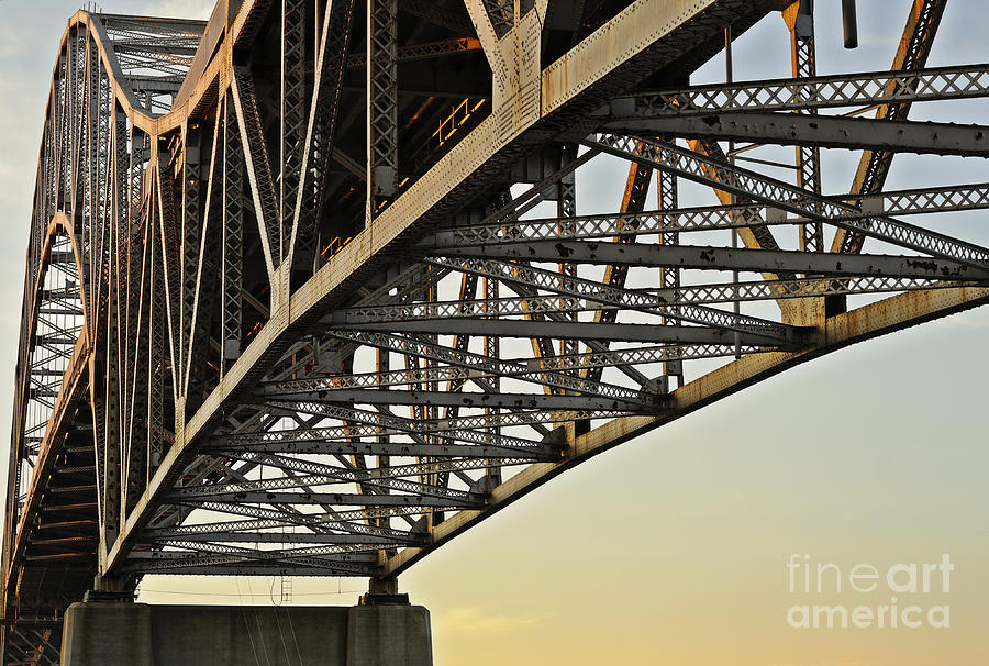 The Sagamore Bridge Photograph  - The Sagamore Bridge Fine Art Print