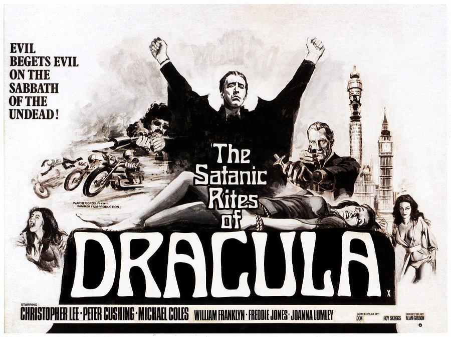 The Satanic Rites Of Dracula, Center Photograph